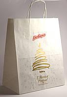 Крафт пакеты с логотипом от 100 шт.