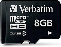 Карта памяти Micro 8 GB Verbatim 44012 Class 10