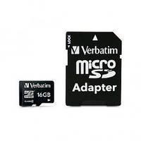 Карта памяти Micro 16 GB Verbatim 44082 Class 10