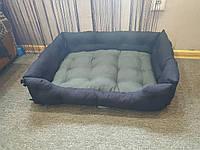 Лежак - диван для кошки и собаки серый