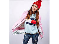 Свитшот женский Tommy, разные цвета. Размеры: батал, норма., фото 1