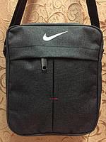 Сумка- барсетка через плечо Nike. Сумка-месенджер Найк.