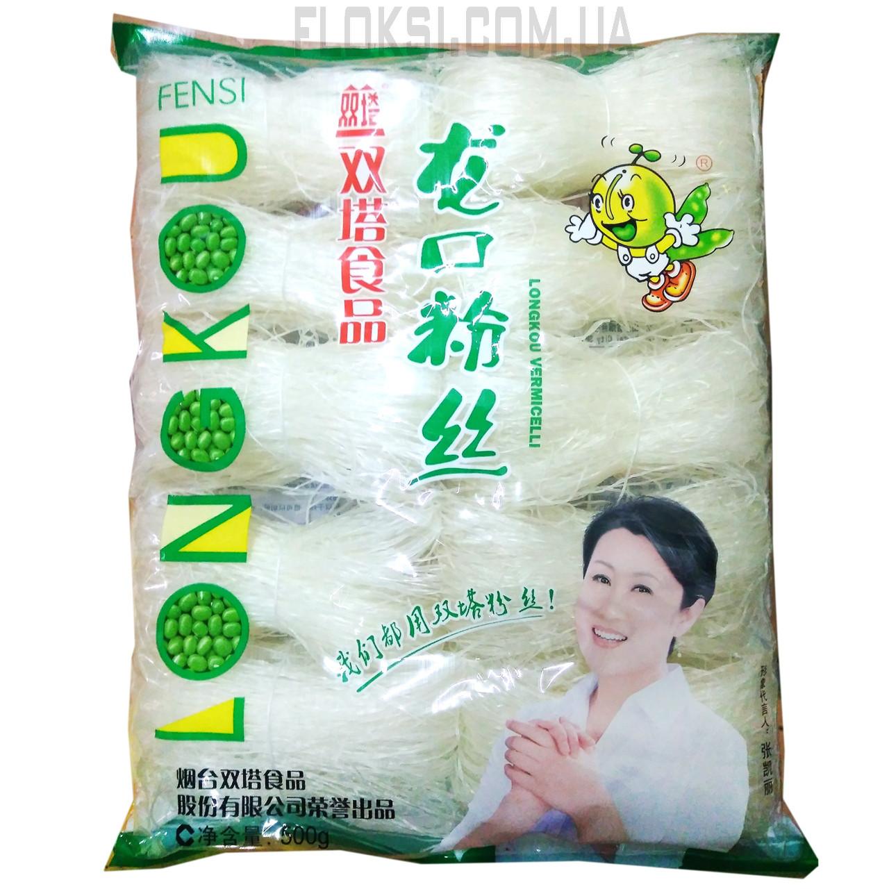Вермишель бобовая Мунг Бин фунчоза 0,500 кг LONGKOU
