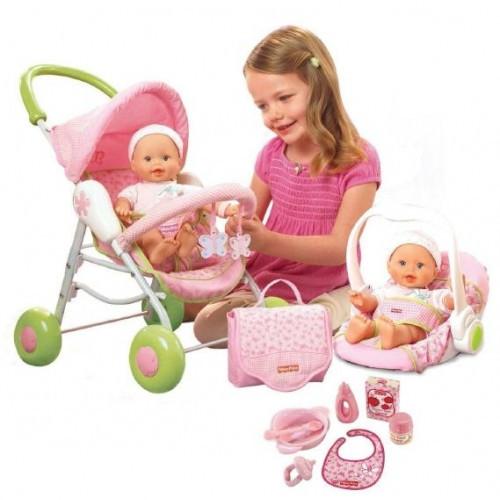 Пупсы, куклы, коляски, игровые наборы