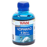 Чернила WWM для Epson Expression Photo XP-55/XP-750/XP-850 200г Light Cyan Водорастворимые (E26/LC)