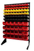 Торговый стеллаж для метизов с ящиками под крепеж  Чугуев