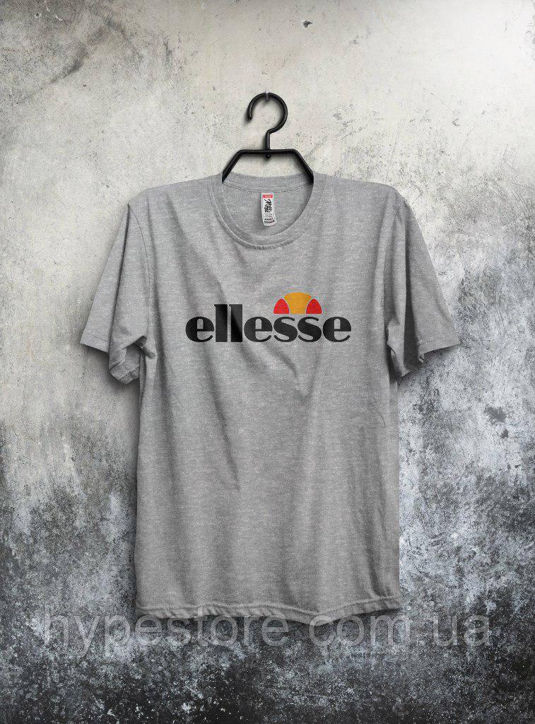 Хайповая мужская футболка ellesse (серый), Реплика