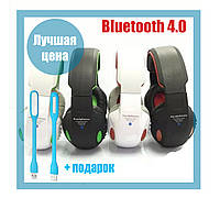 Наушники STN-05 Wireless Bluetooth + MP3 + FM радио (чистый звук)