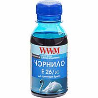Чернила WWM для Epson Expression Photo XP-55/XP-750/XP-850 100г Light Cyan Водорастворимые (E26/LC-2)