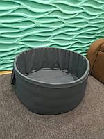 Сухой басейн под шары серый