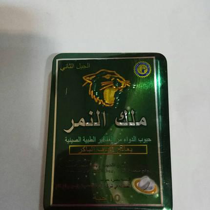 Таблетки для потенції Король Тигр / King Tiger (10 таблеток), фото 2