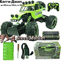 Радиоупровляемый Багги-Джип 4WD 1:10 зеленый