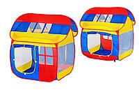 Детская игровая палатка Домик 8078 в сумке, 110х108х126 см.