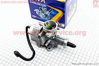 Карбюратор СВ/CG-125 (дросель ручной) на китайский мотоцикл