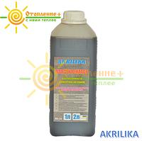 Пластификатор для стяжки теплого пола Akrilika (2 литра)