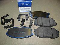 Колодки тормозные дисковые (пр-во Mobis) 581012SA00