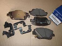 Колодки тормозные дисковые (пр-во Mobis) 581013VA50