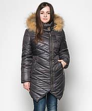 Куртка зимняя женская № 19 (44-52) Черный
