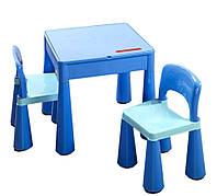 Комплект детской мебели Tega Baby Mamut Blue стол и 2 стула (TM001_03)