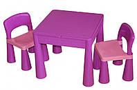 Комплект детской мебели Tega Baby Mamut Violet стол и 2 стула (TM001_05)