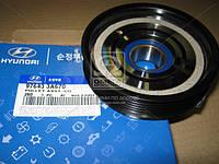Шкив компрессора кондиционера Hyundai Elantra/SantaFe/Trajet 00-/Tucson 04-/Sorento 06 (пр-во Mobis) 976433A670