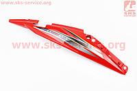 Loncin- LX200GY-3 пластик - задний боковой правый, КРАСНЫЙ на китайский мотоцикл