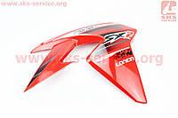 Loncin- LX250GY-3 пластик - бака топливного правый, КРАСНЫЙ на китайский мотоцикл