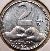 Монета Сан-Марино. 2 лиры 1991 г