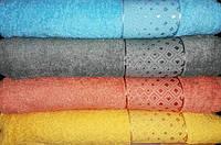 Полотенце махровое, турецкое, 100х150, для сауны, Lux home ромб (сауна)
