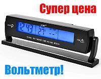 Авточасы VST 7013V с подсветкой, вольтметр, температура-оригинал!