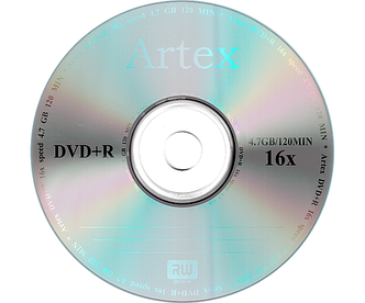 Диски Artex DVD+R 4,7 GB 16x, Bulk/50, серебристый (CMC Magnetics)