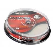 Диски Emtec DVD+R 4,7 GB 16x Cake box/10