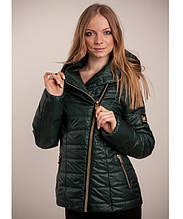 Куртка зимняя женская Naomi (без меха) (42-54) Зеленый