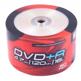 Диски Emtec DVD+R 4,7 GB 16x Shrink/50