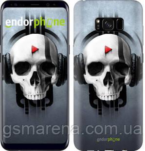 "Чехол на Samsung Galaxy S8 Plus Череп-меломан ""757c-817-7794"", фото 2"