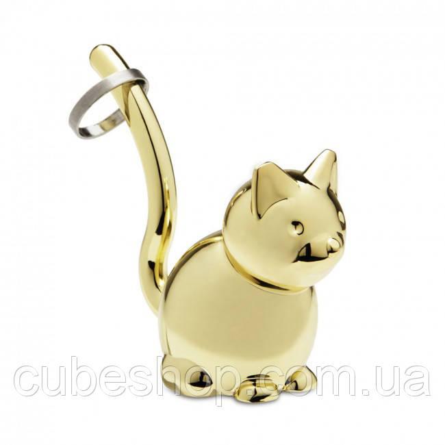 Держатель для колец Zoola Cat Umbra (латунь)