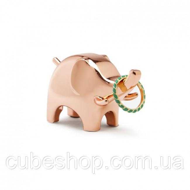 Держатель для колец Anigram Elephant Umbra (медь)