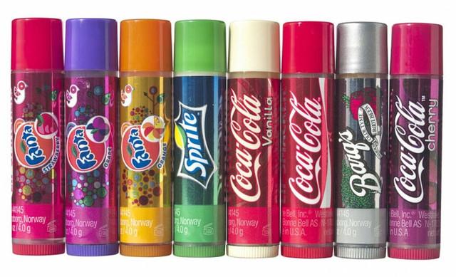 бальзамы для губ cola