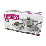 Набор посуды Fissman MOON STONE 6 пр. (Антипригарное покрытие с индукционным дном), фото 5