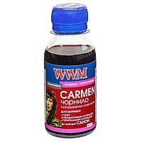 Чернила WWM CARMEN для Canon 100г Magenta Водорастворимые (CU/M-2) универсальные