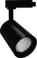 Светодиодный светильник Feron AL100 трековый на шинопровод 8W 4000K 35 градусов черный