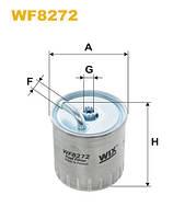 Фильтр топл. PP841/4/WF8272 (пр-во WIX-Filtron) WF8272