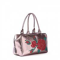 Бронзовая сумка-саквояж 171403 Alba Soboni арт. 128425