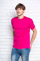 Футболка мужская без швов, супер качество, JHK T-shirt , Испания, однотонная, 100% хлопок, 53 цвета, XS - 5XL
