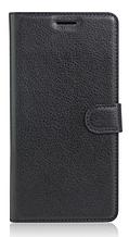 Кожаный чехол-книжка для Sony Xperia XA Dual F3112 черный