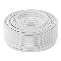 Антенный кабель белый RG 1м