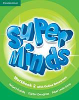 Super Minds 2 Workbook with Online Resources (Рабочая тетрадь)