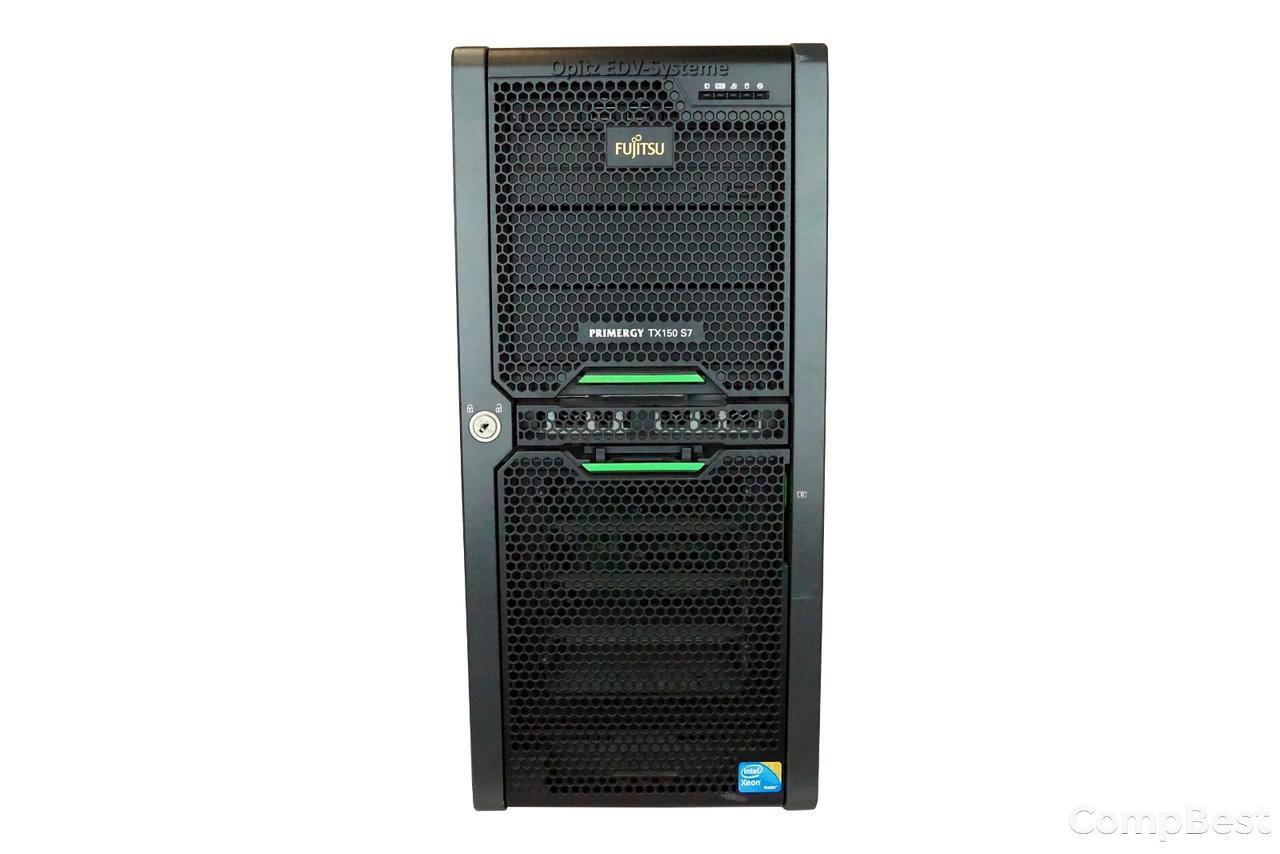 Сервер Fujitsu Primergy TX150 S7 / Intel Core i5-650 / 4 GB DDR3 / 250 GB HDD / NAS хранилище