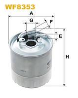 Фильтр топл. WF8353/PP841/7 (пр-во WIX-Filtron) WF8353