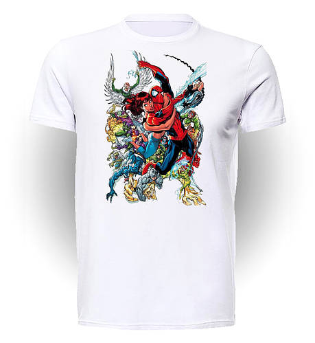 Футболка мужская Geek Land Человек Паук Spider-man Comics SM.01.004